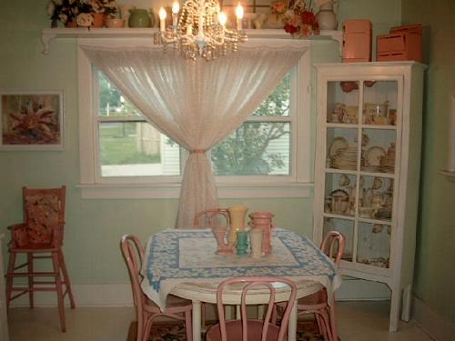 Cottage Dining Room and Collections