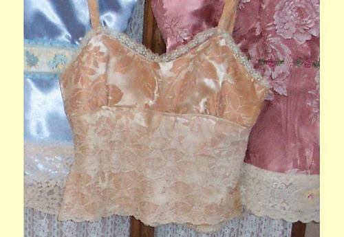 Once Vintage Damask...Now Chic Camisole Tops